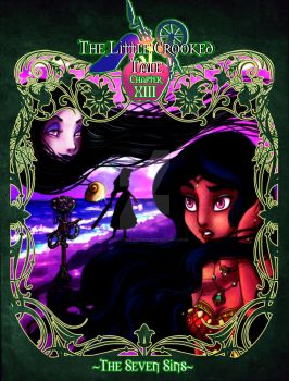 The Little Crooked Tale Chapter XIII Cover by forgotten-ladies
