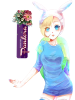 Adventure Time Fionna -Render- by Passion-Colors