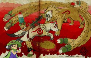 okami art by unkn0wn300