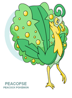 Peacopse by Cerulebell