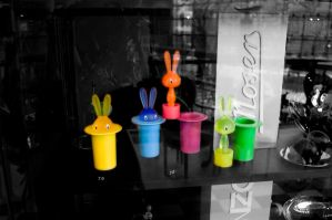 The Warhol Bunnies by Wilczoor