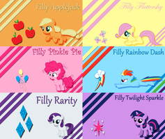 Filly Project Wallpaper by Silentmatten
