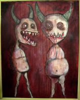 two demons by noisecowboy