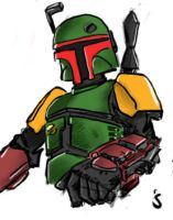Boba Fett, 3 by Ayej