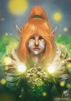 Elven Mage by mattcrossley