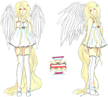 Angelic adoptable (CLOSED) by Xylerz