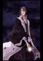 Byakuya - Ready to fight... by MmagPL