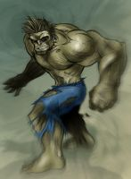 HULK OUT by channandeller