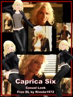 [MMD] Caprica Six - Casual Look DL (PMX) by Riveda1972