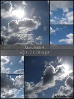 Skies Pack 4 by Cat-in-the-Stock