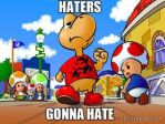 haters gonna hate by superduperlee123