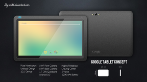 Google Tablet Concept by xNiikk