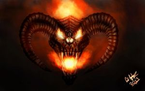 Balrog of Morgoth by ErikAppelqvist