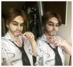 Bigby - The wolf among us - make up test by ignasiak