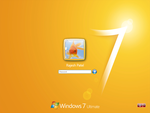 Win 7 Login for XP - Yellow by Rahul964
