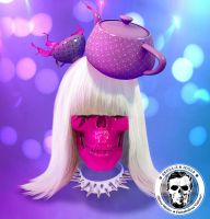 Skullified Gaga by fantasio