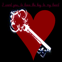 I want you to have the key to my heart by ShexNeverxLovedxMe