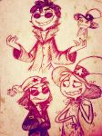 WoY: Who dis be (?) by Shenny-Shendelier