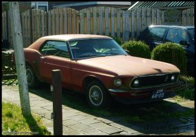 Rusty 1969 Ford Mustang by compaan-art
