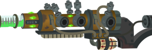 Plasma rifle (Fallout Equestria) by Vector-Brony