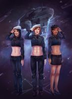 A Few Good Women (Mass Effect) by Mikesw1234