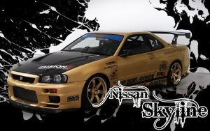 Nissan Skyline by UncleHowie