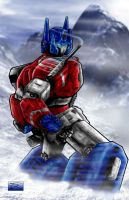 Optimus Prime by toddrayner