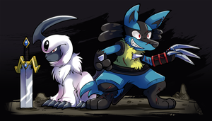 Commission - Flint and Albel by raizy