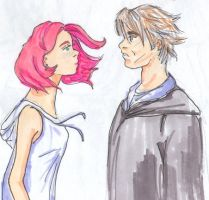 HBP couple lupin + tonks by TheNorthMint