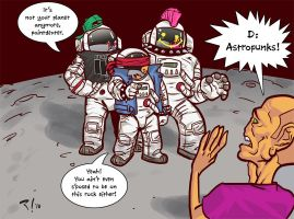 Astropunks - Strip Jam Panel by Scadilla