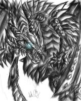 Metal light dragon by CPoring