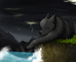 Storm By The Sea by Pokeapache