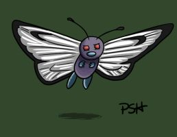 POKEDDEX Day 7: Butterfree by Psh07