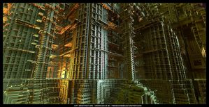 CITY ARCHITECTURE I - MANDELBULB 3D by FireSnake666