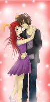 Laly and Jack - art trade by Shizuka-Yoru