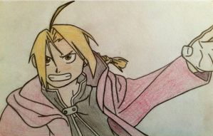 Edward Elric by eotree46
