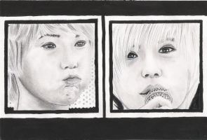 Taemin portrait series #1 by taeminlover94