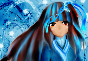 OC drawing Request for Rumi-Aqua by SwordOfBurningLight
