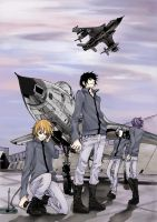 Arrival: from darker skies by 3fukutaicho