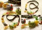 Necklace Russian Fairy Tales by allim-lip