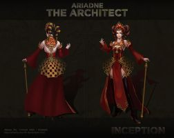 [Moviefest] Ariadne Modelsheet by Athena-Erocith