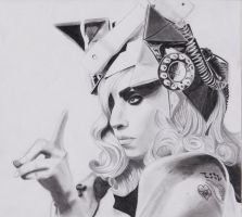 lady gaga by sonya-ravji