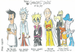 Characters' Doodle of the Day - 09/16/2015 by FelixToonimeFanX360