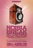 noisia poster by c0p