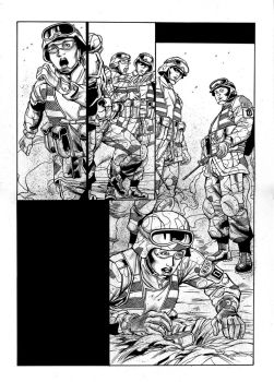 EOD Soldiers 03 - page - 24 ink by furuzono