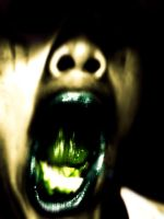 Mouth decomposing by gerky-art