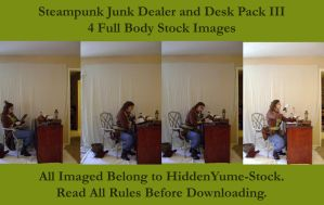 Steampunk Junk Dealer+Desk III by HiddenYume-stock