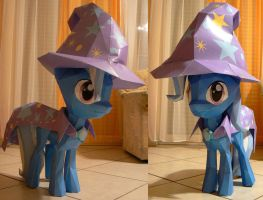 Great and powerful papercraft Trixie by Znegil