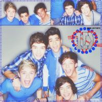 Collage de One Direction by PameOsses