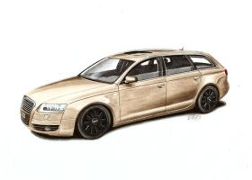 Audi A6 by nessi6688